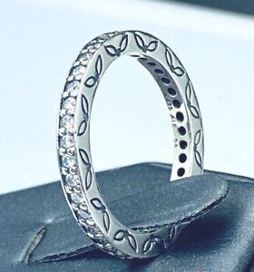PANDORA-925-ALE-Cubic-Zirconia-Eternity-Band-Ring-E254