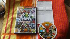 Los Sims 3 Edición Limitada temporadas Pack De Expansión PC/Mac DVD v.g.c.