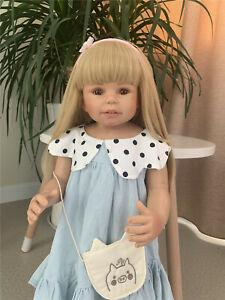 Real Looking Masterpiece Dolls Girls Standing Reborn Baby Dolls Big Size Girls