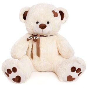 Teddybär 240cm 190cm 160cm 100cm  VANILLE XXL BIG Plüsch Riesen Stofftier Weich