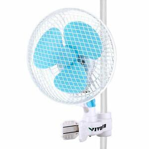 VIVOSUN-6-034-inch-2-Speed-Clip-On-Oscillating-Fan-for-Hydroponic-Grow-Tent-1-034-Pole