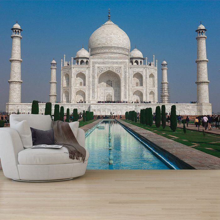 Taj Mahal Fototapete Wahrzeichen Indien Tapete Wohnzimmer Schlafzimmer Dekor
