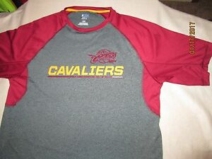 Image is loading CLEVELAND-CAVALIERS-TX3-COOL-SHIRT-LARGE-GREY-amp- 6e22f7603