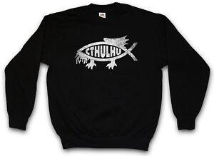 Deamon Cthulhu Miskatonic Fish Ichtys Marsh Pullover Demon Dunwich Insmouth rdCXqrw
