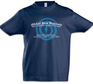 Abdul-Ben-Hassan-Kinder-Jungen-T-Shirt-Symbol-Blade-Logo-Schlangenshop-Runner