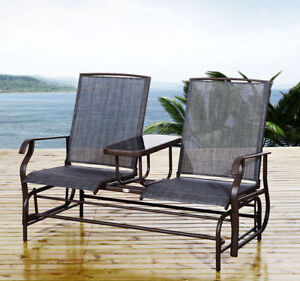Ordinaire Image Is Loading Patio Glider Rocking Chair Bench Loveseat 2 Person