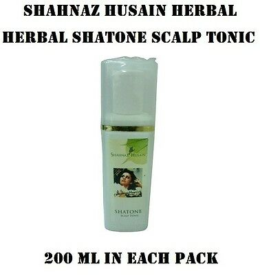 Creative New Shahnaz Husain Shatone Scalp Nature Tonic Stimulating Hair Growth 200 Ml