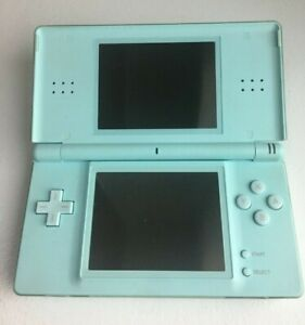 Nintendo DS Lite W/Charger USG-001- Ice Blue - GOOD CONDITION