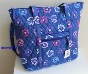 d87714f8c7 NEW w Tag VERA BRADLEY Villager Shoulder Bag Solid interior (PICK ...