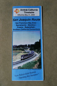 Amtrack-San-Joaquin-Route-Timetable-May-21-2000