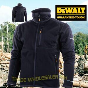 c4e8302a58b Details about DeWalt Barton Jacket Technical Weatherproof Workwear Black  Size M – XXL