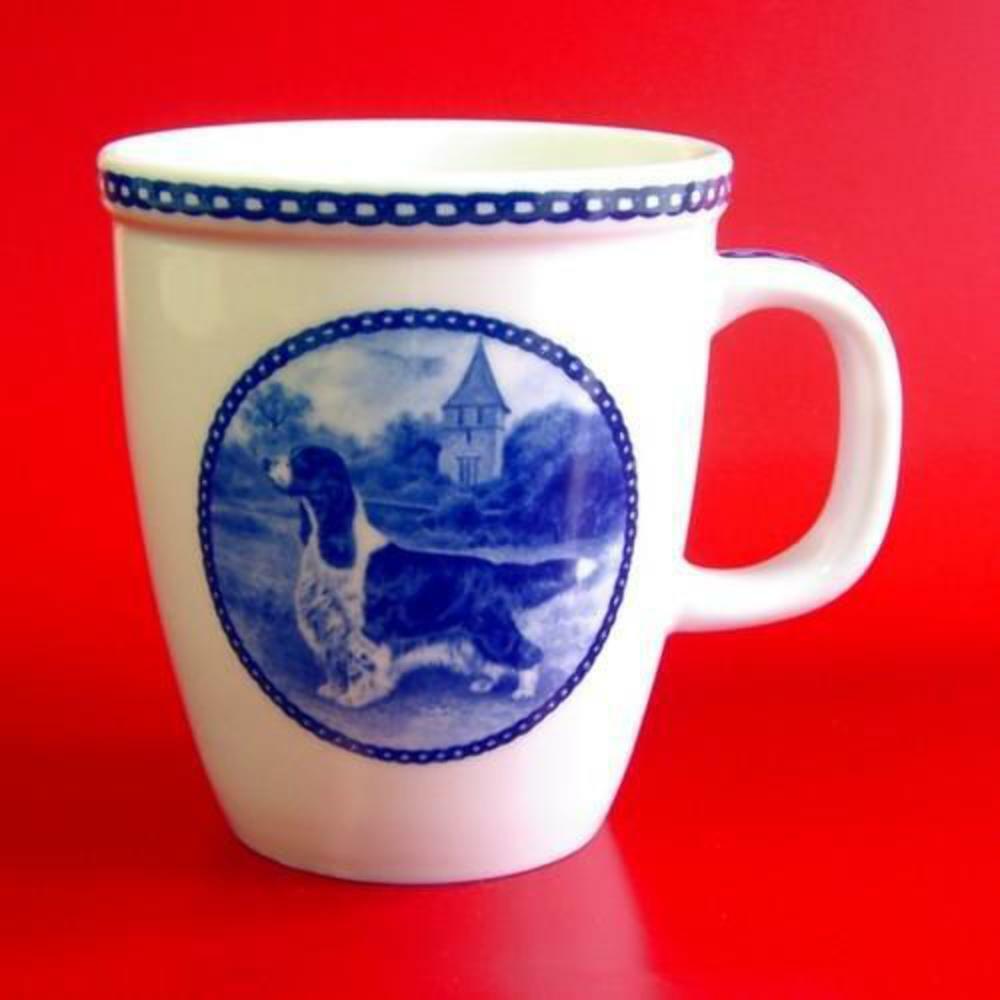 Ensligh Springer Spaniel - Porcelain Mug made  in Denmark  new style
