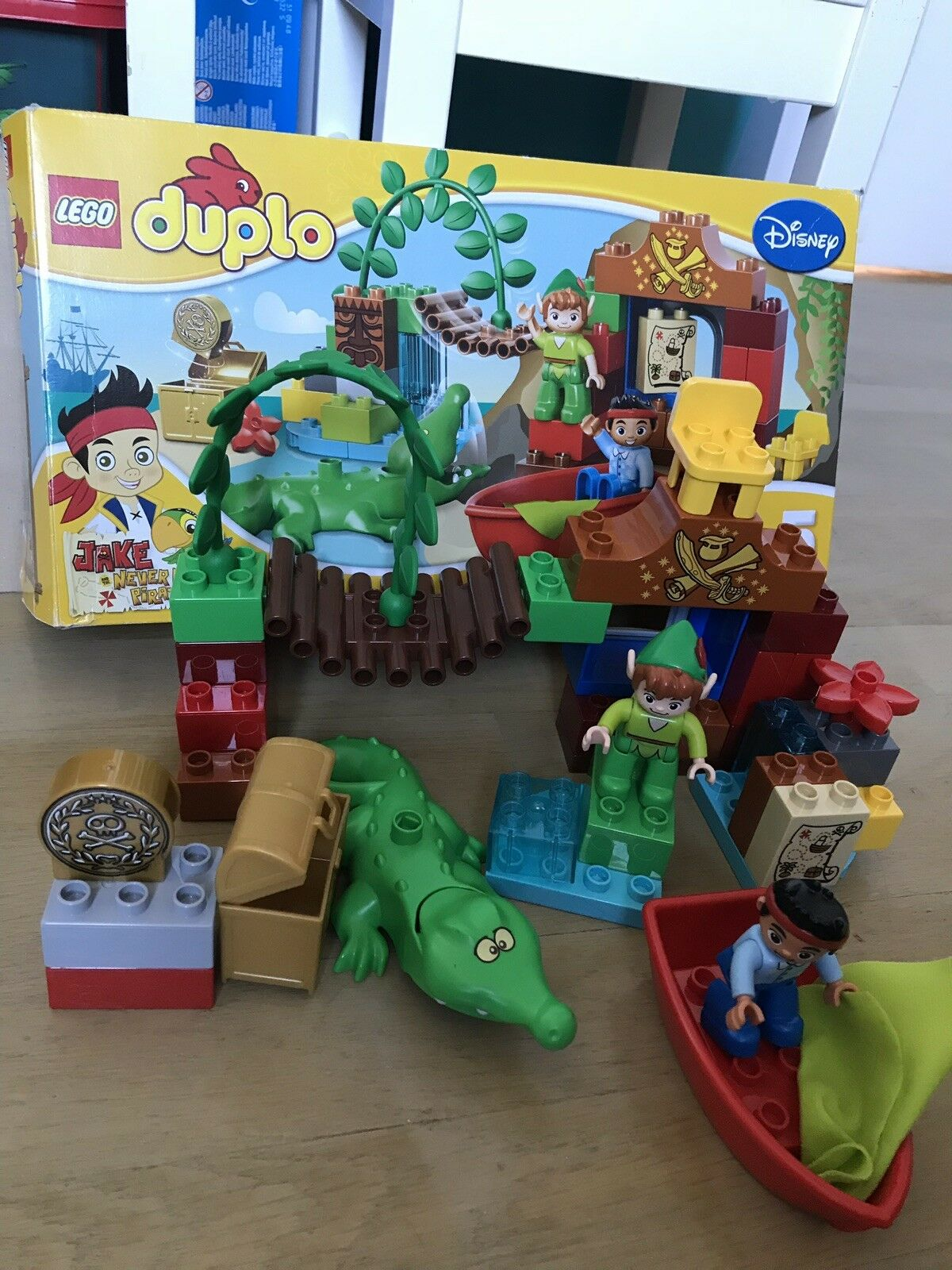 Lego duplo  10526 jake and the pirates  vente discount
