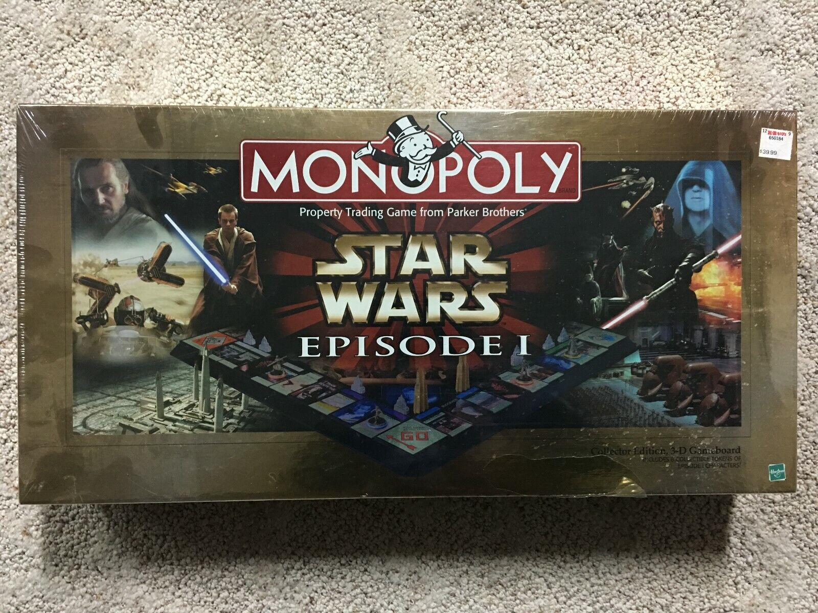 Star Wars Episode I Monopoly Collector Ed NEW SEALED Board Game
