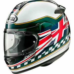 Arai-Debut-Union-Motorcycle-Motorbike-Helmet-Green-Union-Flag-UK-Supplier-2019