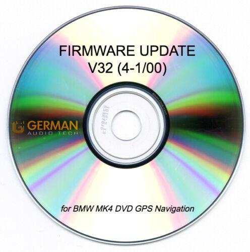 V32 SOFTWARE UPDATE DISC For BMW MK4 DVD CD NAVIGATION
