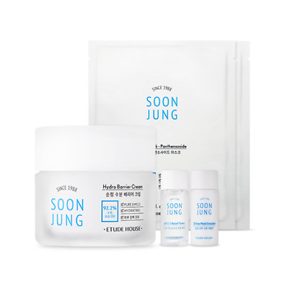 [ETUDE HOUSE] Soon Jung Hydro Barrier Cream Special Set (5 items)