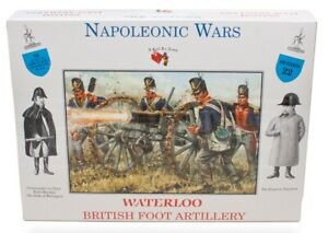A Call To Arms Waterloo British Foot Artillery Napoleonic Wars Soldier Kit 1:32