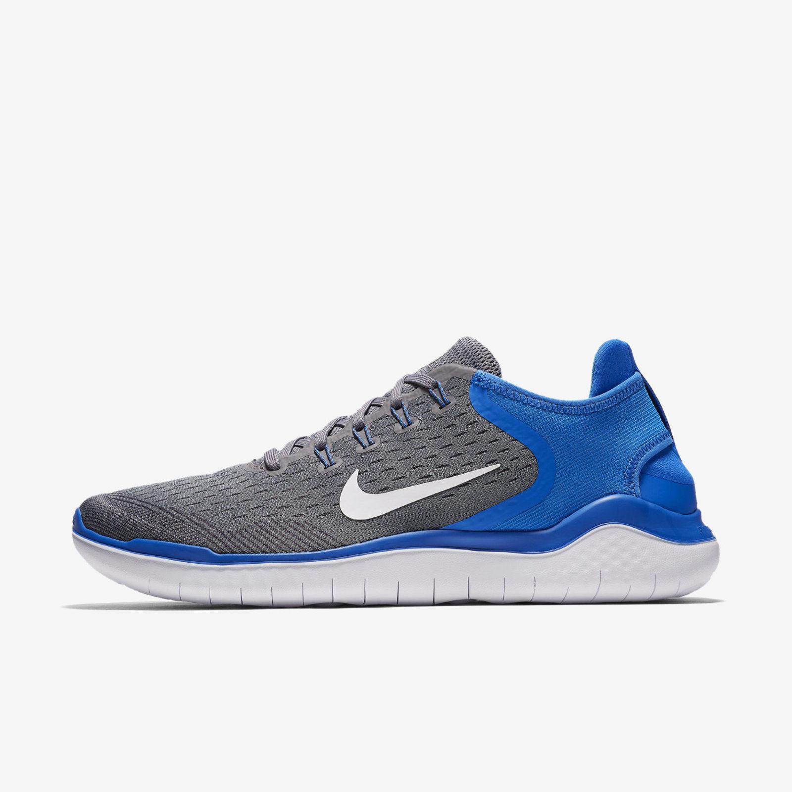 NIB Nike Nike Nike Free RN Run 2018 Sneakers Gunsmoke bluee Wht 942836-008 MEN'S 9.5-11.5 2bae3e