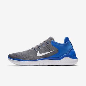 Caja blanco Free 2018 Zapatillas Run Rn 942836 Nike En 008 Nuevo azul Gunsmoke 5xpBHnvTw