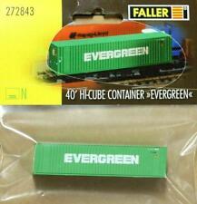 Faller 272843 40` Hi-Cube Container EVERGREEN