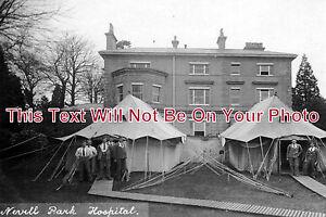 KE-406-Nevill-Park-Hall-Military-Hospital-Tunbridge-Wells-Kent-6x4-Photo