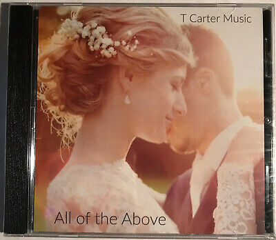 T Carter Music All Of The Above Music Cd Brand New Sealed Ebay