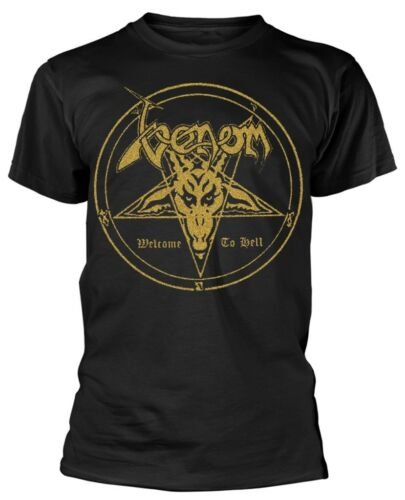 NEW /& OFFICIAL! Venom /'Welcome To Hell/' T-Shirt