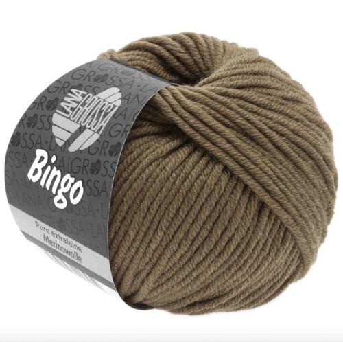 Lana Grossa Bingo Farb-Nr 188 khaki