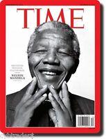 Nelson Mandela Time Refrigerator / Tool Box / File Cabinet / Magnet