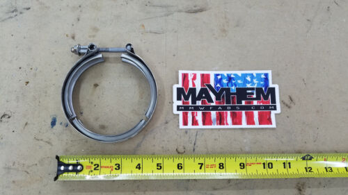 Borg Warner S300 Marmon Stainless steel Turbo exhaust clamp