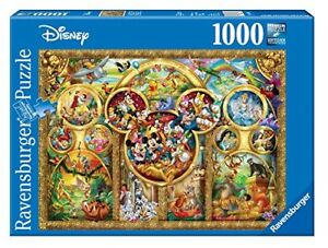 Ravensburger-Disney-Best-Themes-Jigsaw-Puzzle-Mickey-Snow-White-Donald-1000-pc
