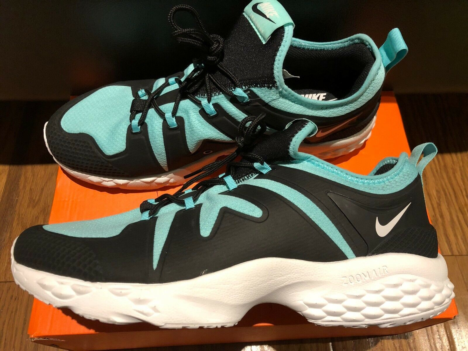 Nike Homme Taille 9 Air Zoom LWP'16 SP Chaussures paniers Turquoise Tiffa NY 918226-006