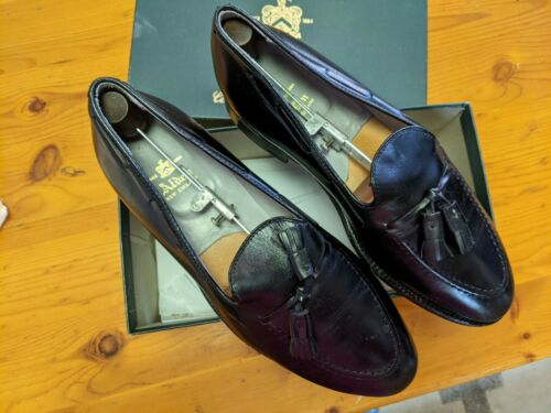 Alden Tasseled Loafer - Black 11EE - Gently Worn S