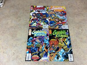 GAMBIT-AND-THE-XTERNALS-1-2-3-4-LOT-OF-4-COMIC-NM-1995-MARVEL