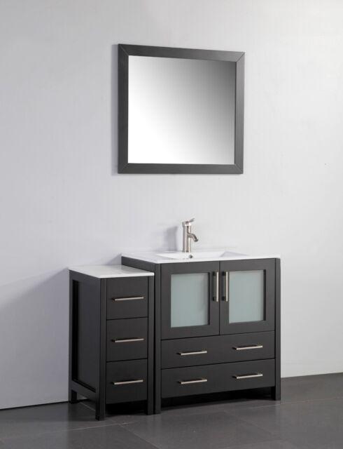 42 Inch Single Sink Bathroom Vanity Set With Ceramic Top VA3030 42