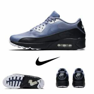 Details about Nike Air Max 90 Ultra Essential Running Light Carbon Grey 875695 012 Sz 4 13