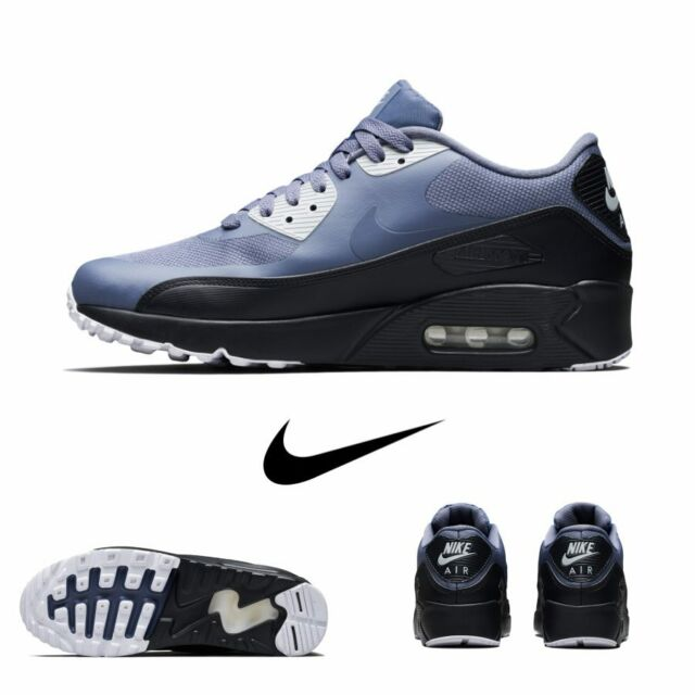 Nike Air Max 90 Ultra Essential Running Light Carbon Grey 875695 012 Sz 4 13