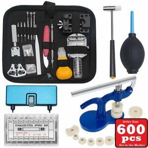600-PCS-Watch-Repair-Tool-Kit-Watchmaker-Strap-Pin-Battery-Cover-Bracelet-VK01