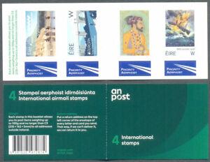 """Irlande - 2019 """"w"""" Livret 4 Auto-adhésifs-neuf Sans Charnière-timbres-offre Limitée--mnh-new Stamps-limited Supply Fr-fr Afficher Le Titre D'origine"""