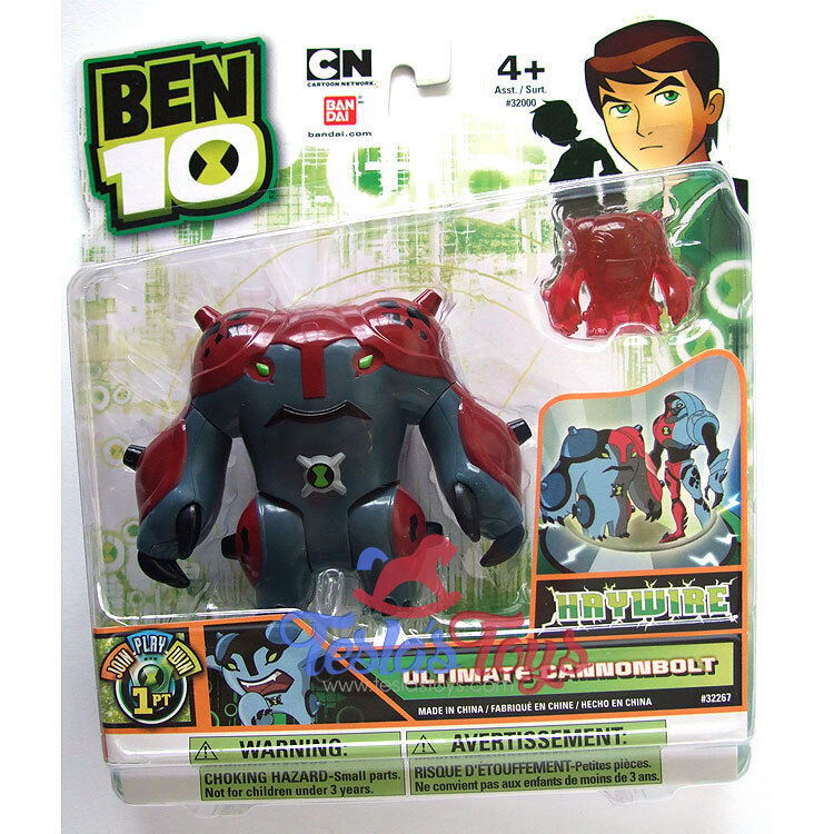 Ben 10 Ultimate Alien Action Figur - Ultimate Cannonbult (Haywire)