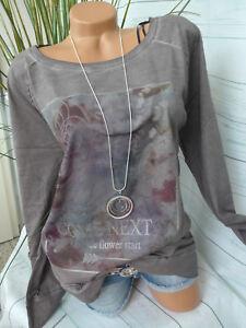 Sheego-Shirt-Sweatshirt-Langarm-Gr-40-42-48-50-123-Oil-Wash-Optik