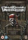 Pirates Of The Caribbean 1-4 (DVD, 2011, 4-Disc Set, Box Set)