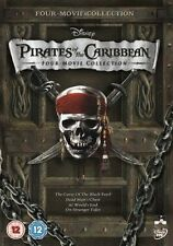 Pirates Of The Caribbean 1 4 Dvd 2011 4 Disc Set Box Set For