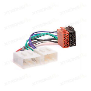 image is loading car-stereo-wiring-harness-iso-adaptor-lead-for-