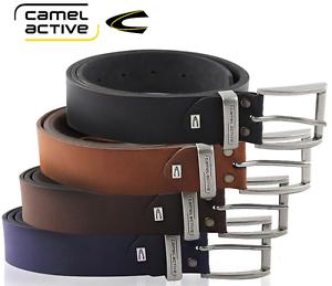 CAMEL-ACTIVE-Lederguertel-Herren-Guertel-Herrenguertel-Damenguertel-Unisex-Rindleder