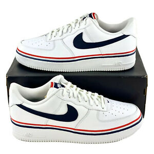 Details about Nike Air Force 1 Low USA Men's Size 13 Red White Blue AF1  CJ1377 100