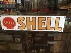 Shell Banner Vintage Logo