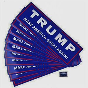 10pcs-Donald-Trump-For-President-Bumper-Sticker-Keep-America-Great-Again-Decal