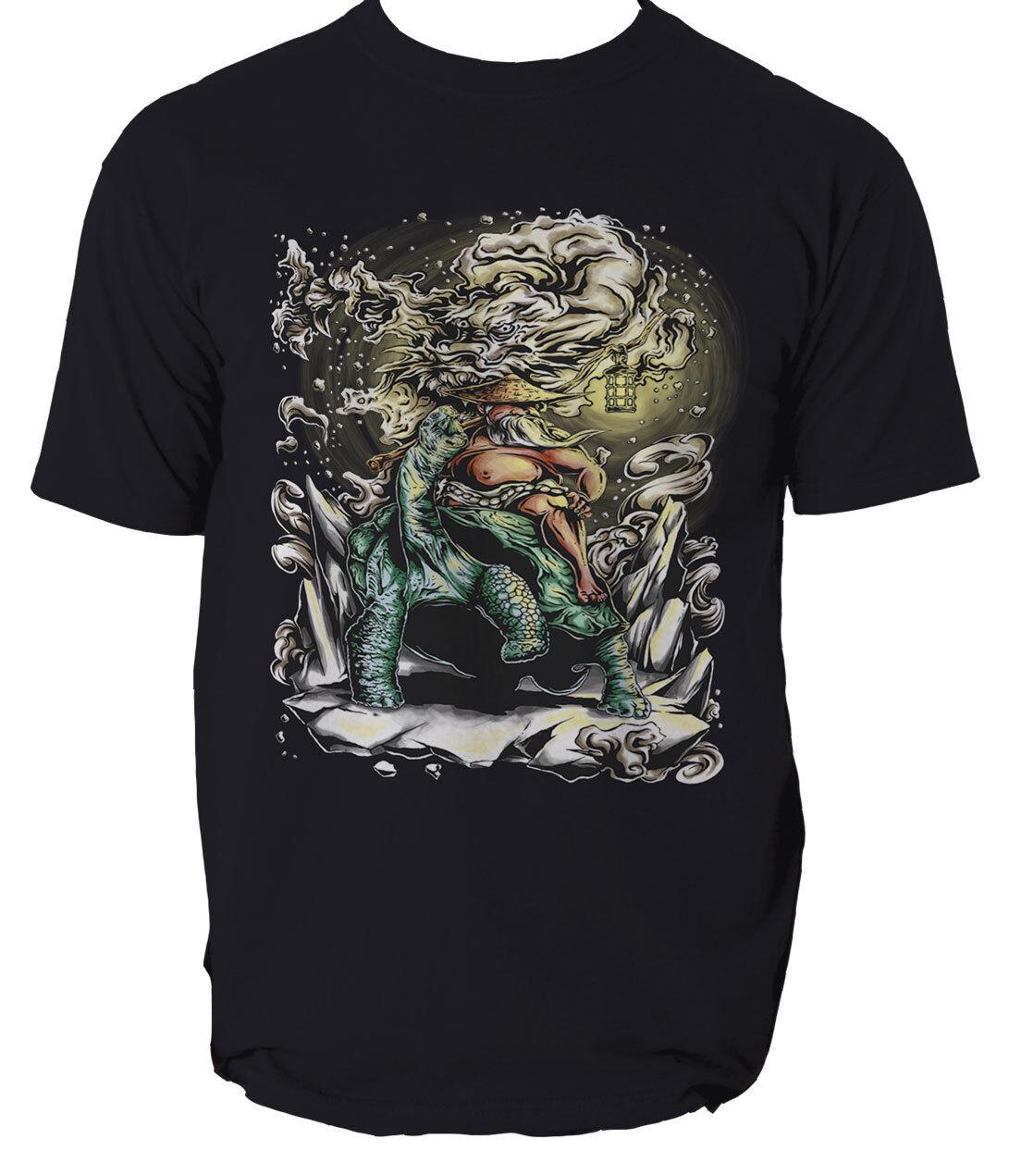LE SAGE vieillard T Shirt Arts Dragon Comics Arts Shirt Martiaux T-shirt homme tee S-3XL c3fd20